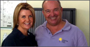 Mandy & Mike - owners of Sunshine Golf Travel Agency